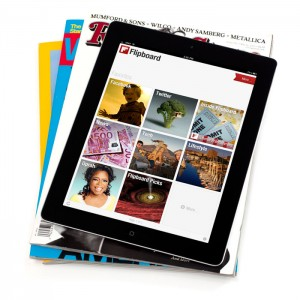 Screenshot of Flipboard for iPad
