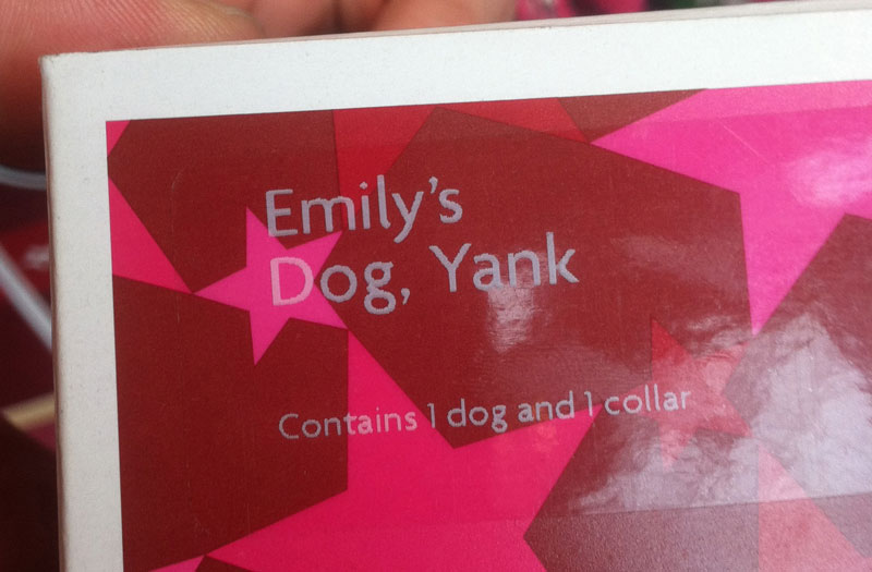 Dog named Yank